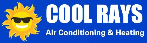 Cool Rays Air Conditioning and Heating full logo