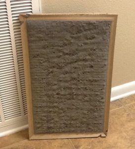 dusty air filter